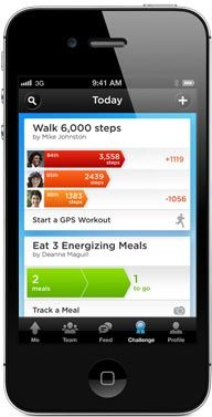 tracking steps on iphone 5