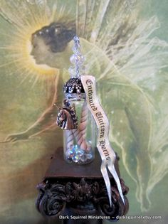 enchanted unicorn | Ultimate Enchanted Unicorn Horns Potion Bottle dollhouse miniature in ...