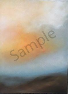 A misted veil over the California mountains. California Mountains, Watercolor Paper, Veil, Breathe, Oil On Canvas, Abstract Art, Original Art, Fine Art, Art Prints