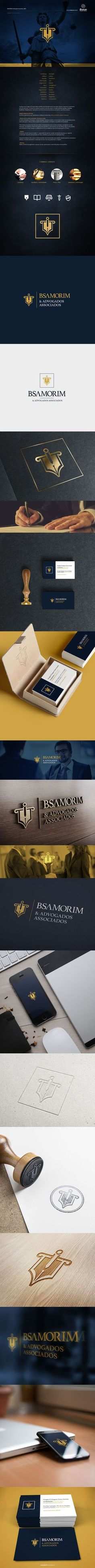 LOGO INDENTITY | BSAMORIM & Advogados Associados on Behance