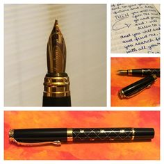Loving my new Jinhao fountain pen - basic model but it writes very nicely - perfect for everyday journaling. :)