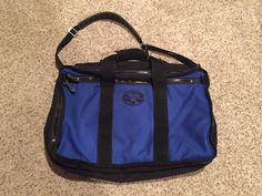 Red OXX Air Boss Mariner Blue Carry on Travel Bag | eBay