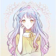 Aella Marvell is the 18 yr old sister of Wendy, is a Sky Devil Slayer & her blue guild mark is on her left shoulder Anime Chibi, Anime Oc, Anime Eyes, Pretty Anime Girl, Kawaii Anime Girl, Anime Art Girl, Anime Girls, Anime Angel, Manga Girl