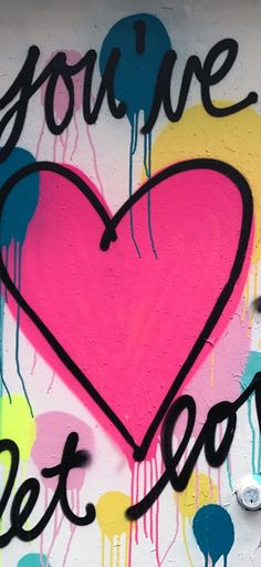Cute Wallpaper Backgrounds, Cute Wallpapers, Iphone Wallpaper, Graffiti Designs, Love Text, Love You, Let It Be, Urban Art, Paint Colors
