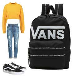 """""""Vans"""" by sara-balut on Polyvore featuring KUT from the Kloth, Topshop and Vans"""