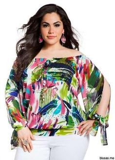 Ashley Stewart Women's Plus Size Tropical Print Peasant Top Absolute Green Plus Size Fashion For Women, Plus Size Women, Bag Essentials, Vestidos Fashion, Curvy Fashion, Womens Fashion, Modelos Plus Size, Vetement Fashion, Looks Plus Size