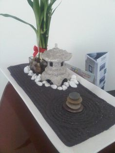 A Miniature ZEN Garden Arrangement By WallzArt, Manila, Phils. | Miniature  Zen Garden | Pinterest | Miniature Zen Garden, Gardens And Miniature Gardens