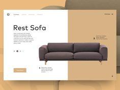 Sofa by Ryan Pittman - Dribbble
