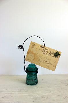 industrial repurposed holder // photo // business by umbrellafant, $15.00