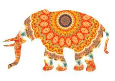 Elephants represent the Indonesia feel. Also like the pattern