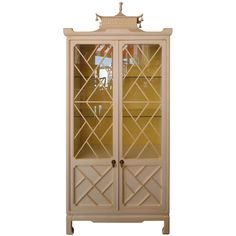 Pagoda Cabinet | From a unique collection of antique and modern cabinets at http://www.1stdibs.com/furniture/storage-case-pieces/cabinets/