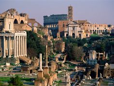 Originally the center or Roman political and social life.. so cool!