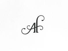 Dribbble - AF - Monogram by Lemur Design