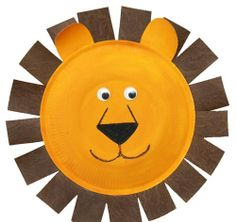 Simple steps to make lion with paper plate.  #kidsactivities   #kidscrafts   #DIY   #diycrafts   #HowTo