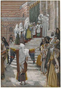 La presentación de Jesús en el templo / The Presentation of Jesus in the Temple / La présentation de Jésus au Temple (Luke 2:25-38)