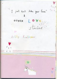 Love Zine by Sally Faulkner on Little Paper Planes
