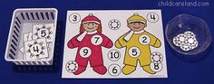 Winter Learning Friends Number Cover-Up - Re-pinned by @PediaStaff – Please Visit http://ht.ly/63sNt for all our pediatric therapy pins