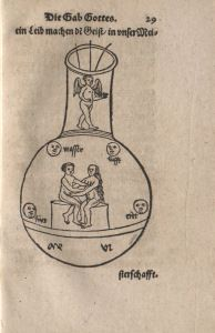 a 17th century alchemy book