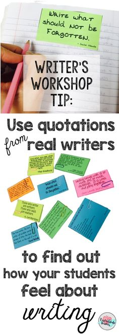 Use quotes in writer