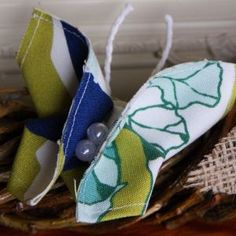 How to make a fabric butterfly via @Guidecentral - Visit www.guidecentr.al for more #DIY #tutorials