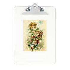 Little Victorian Girl With Flower Basket Clipboard > Flower Girl > Sassy Countess