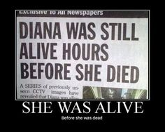 she was alive before she died