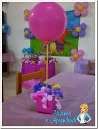 Resultado de imagem para decoração com reciclagem da mesa de festa infantil