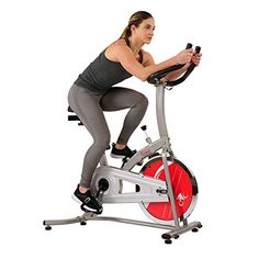 Discounted Sunny Health and Fitness Indoor Cycling Bike #SunnyHealthandFitnessIndoorCyclingBike Indoor Cycling Bike, Cycling Bikes, Road Cycling, Bike Indoor, Best Exercise Bike, Cool Bike Accessories, Cycling Workout, Bike Seat, Bike Style