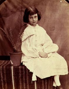 Alice Liddell (the real Alice in Wonderland)
