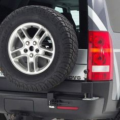 Terrafirma Spare Wheel Carrier for Land Rover Discovery 3