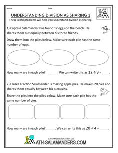 math worksheet : 1000 images about ision on pinterest  division  : Division As Sharing Worksheets
