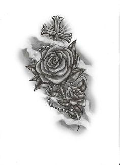 Pretty Ass Roses & Cross