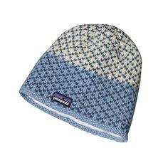 Patagonia Women's Beatrice Beanie - Updated with a new knit pattern, the Beatrice Beanie is the perfect go-to for cold weather pursuits. Lined with polyester fleece for warmth and comfort in all conditions.