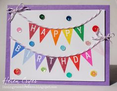 The Dining Room Drawers  Birthday banner