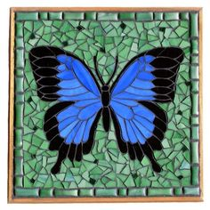 Butterfly mosaic.