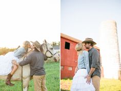 farm engagement session | AMY + PJ in Colorado