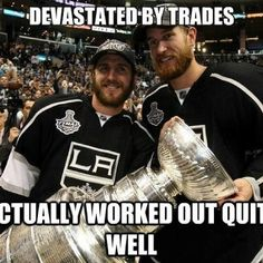 <3 Mike Richards (and that he's bringing home the cup to Kenora!)