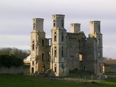"""Wothorpe House, stamford, Lincolnshire - The Priory of Wothorpe was a """"small Benedictine nunnery"""", founded apparently around 1160. All but one of the nuns died in the outbreak of Plague in 1349, with the survivor becoming part of the Priory of Stamford. The property was dissolved by Henry VIII, being granted to Richard Cecil."""