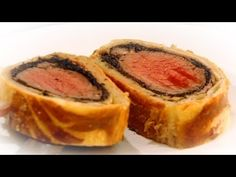 Gordon Ramsey New Beef Wellington with chestnuts and mushrooms.  Great alternative to turkey at Christmas!
