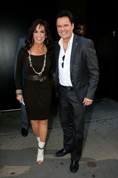 Marie Osmond - Donnie and Marie Osmond Join Julie Andrews on Good Morning America