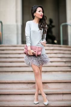 Tweet Happy Wednesday everyone! I'm such a huge fan of feather skirts and absolutely love the...