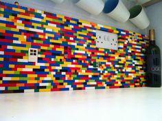 Lego kitchen splashback