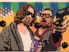 Big Lebowski Perler Beads by CupcakeCouture4Ever on deviantART