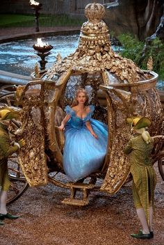 Lily James dazzles as 'Cinderella' in new images. See Lily James, Cate Blanchett and more in 'Cinderella' images Disney Live, Film Disney, Disney Magic, Disney Movies, Walt Disney World, Disney Pixar, Disney Toys, Live Action Disney, Disney Travel