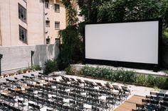 Σινε ΗΛΕΚΤΡΑ Outdoor Cinema, Under The Stars, Athens, Culture, Summer, Summer Time, Drive Thru Movie Theater, Outside Movie, Athens Greece