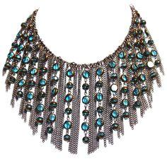 On the Fringe necklace designed by Denise Yezbak Moore for Halcraft, USA diy instructions on www.halcraft.com