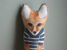 'Little fox' by AshlandHill on Etsy #fox #handmade #red #orange #craft