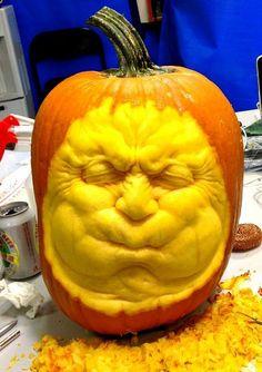 NEUVĚŘITELNÉ! Co všechno se dá vyřezat z dýní? Inspirujte se v strašidelné halloweenské galerii! - galerie Pumpking Carving, Amazing Pumpkin Carving, Pumpkin Art, Pumpkin Faces, Halloween Pumpkins, Halloween Crafts, Halloween 2019, Pumpkin Sculpting, Pumpkin Decorating Contest