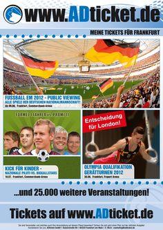 U-Bahn Plakat Frankfurt Juni 2012 / Motiv b)
