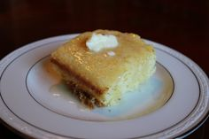 Sweet Corn Bread- Perfect for under a bowl of chili.
